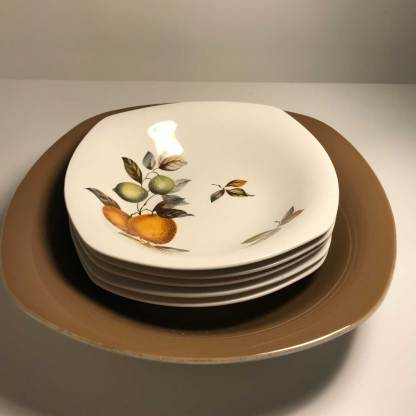 Midwinter large serving bowl with 5 x matching dessert bowls