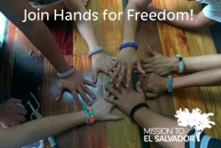 join hands for freedom giving tuesday