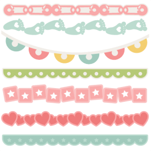 Download Baby Borders SVG scrapbook cuts baby svg cut files for ...