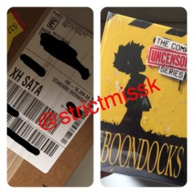The Boondocks Complete DVD series! One of My favorite TV shows...