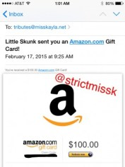 My female sub paying her dues. Yes, even white girls have to pay tribute to Me.