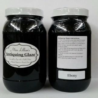 Antiquing Glaze - Ebony