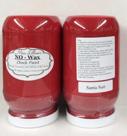 Chock Paint - Santa Suit
