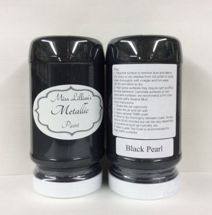 Metallic Paint - Black Pearl