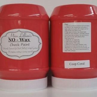 Chock Paint - Coop Coral - Chalk Style Paint - Chalk Paint