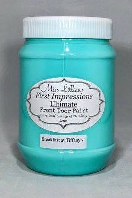Front Door Paint - Breakfast at Tiffany's