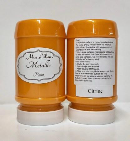 Metallic Paint - Citrine