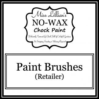 Retailer Paint Brushes Cover