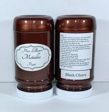 Metallic Paint - Black Cherry