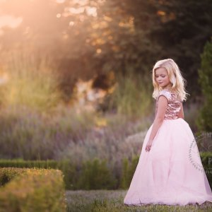 Girls Sequin Gowns