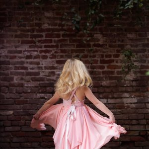 Gabrielle girls gown, tiered chiffon gown for girls, birthday dress, photo shoots