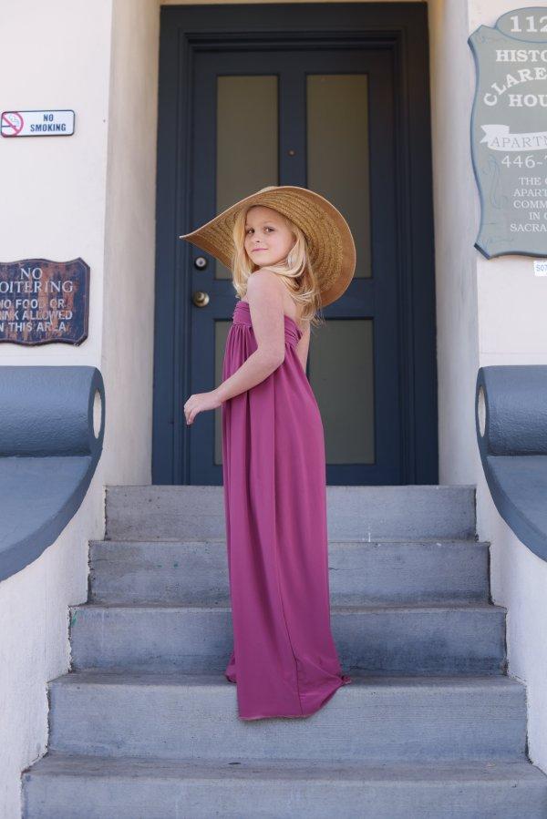 Cari girls maxi dress, beach dress, mommy & me photo shoots
