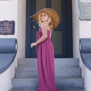 Cari girls maxi dress, beach dress, mommy & me photo shoots