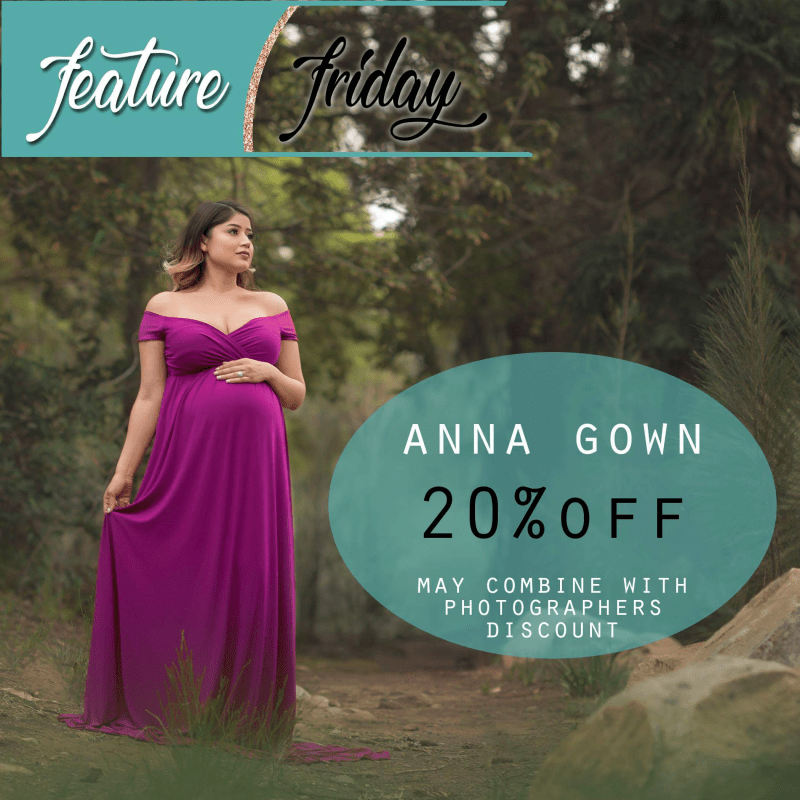 Last Chance to pick up our Anna Maternity Dress for an AH-Mazing Price!!!