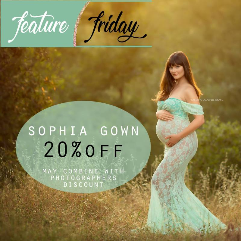 Friday Feature | Sophia Gown 20% Mark Down