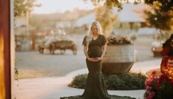 309021d558df0 Miranda chiffon maternity gown - Miss Madison Couture | Gowns for ...