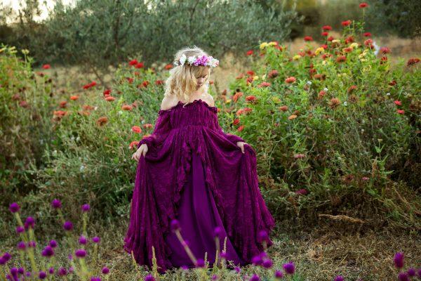 girls lace gown, birthday, milestone, flower girl