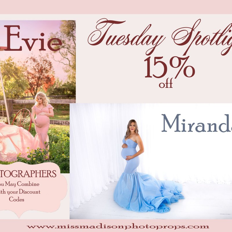 Tuesday Spotlight | Two Elegant Maternity Gowns
