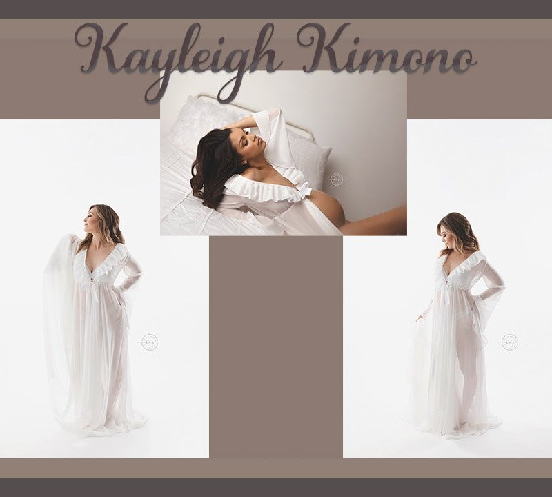 New Design!  Our Kayleigh Kimono is Just What You've Been Looking For!