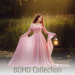 Boho Maternity Gowns