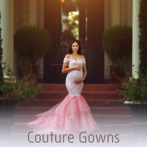 Couture Gowns | Formal Maternity Dresses