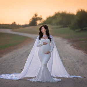 chiffon cape, maternity photoshoot, photography