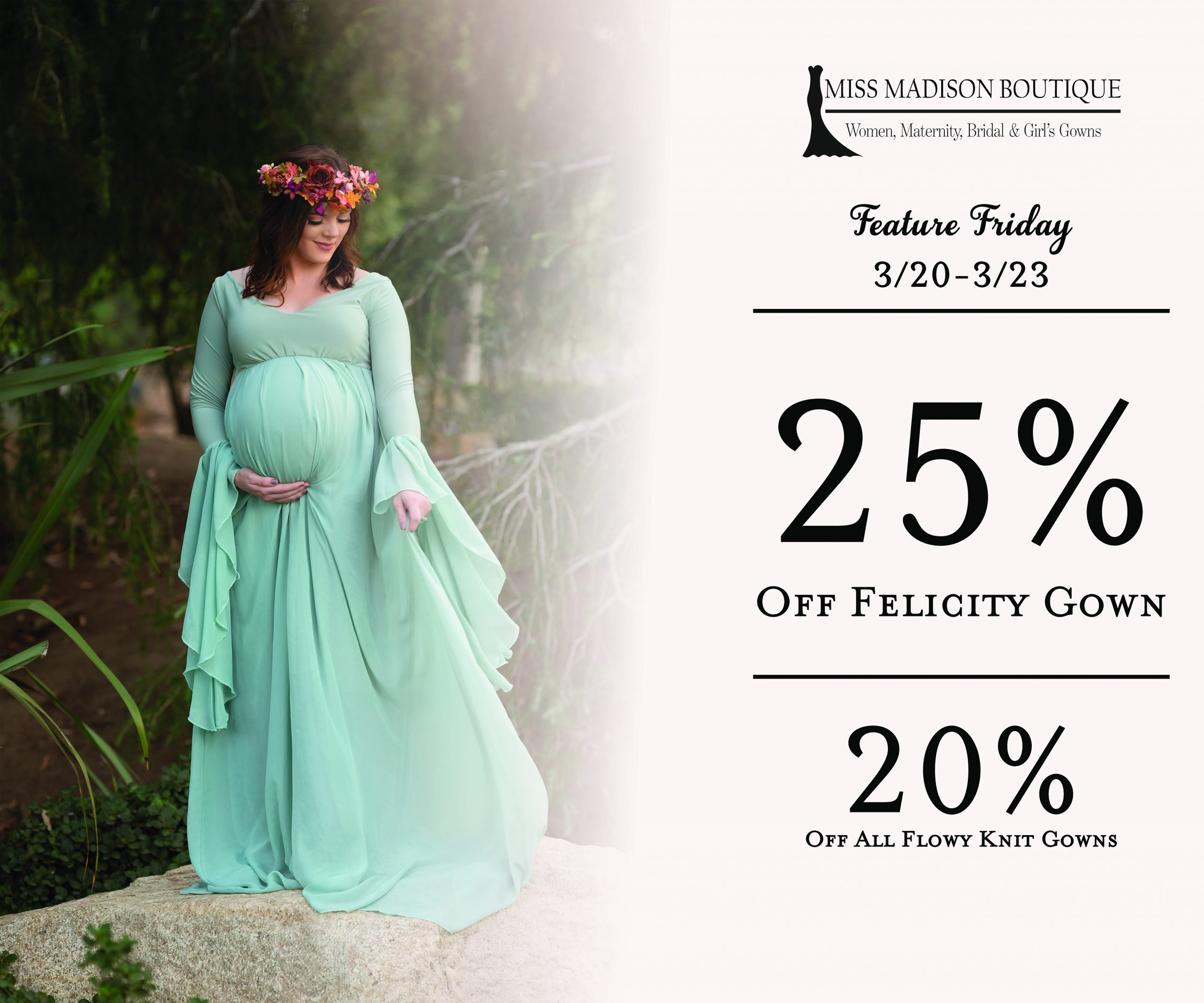 Maternity gown for photoshoots sale, romantic maternity gowns