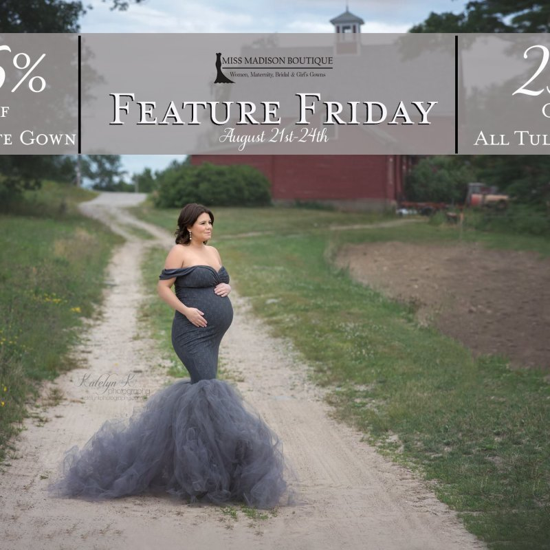 Feature Friday Aug. 21-24