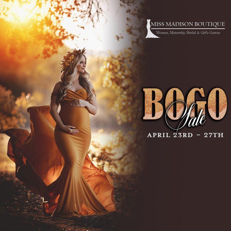 April Bogo Sale 4/23 – 4/27