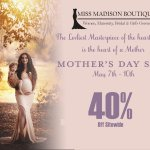 Mother's Day Sale 5/7 - 5/10