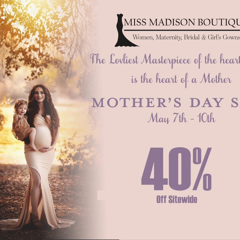 Mother's Day Sale 5/7 – 5/10