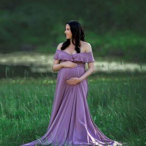 full length maternity dress, pregnancy maxi dress, jersey knit, bridesmaid dress, Flowy Maternity gown photography, jersey maternity dress photoshoot, baby shower dress, long sleeve, long maternity dress, maternity photoshoot