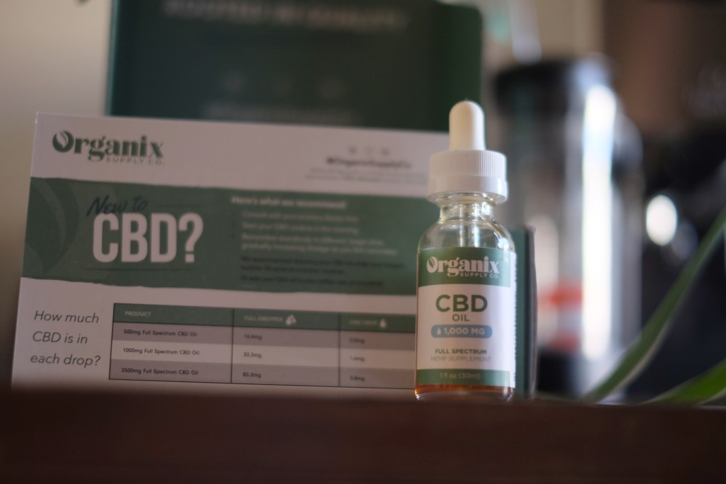 Organix Supply CBD oil review