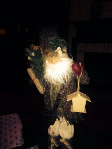 Birdhouse Santa