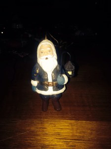 Lantern Santa