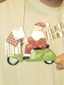Biker Santa