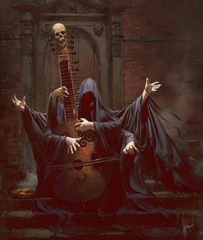 Danse Macabre via Flash Prompt