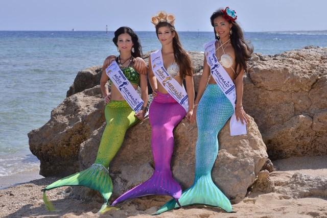 Les gagnantes de Miss Mermaid International 2016