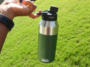 Camelbak vacuum chute makes drinking enough water easy