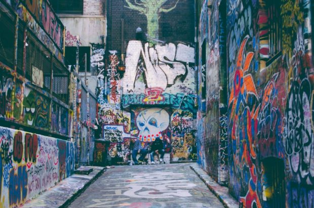 amazing street art melbourne
