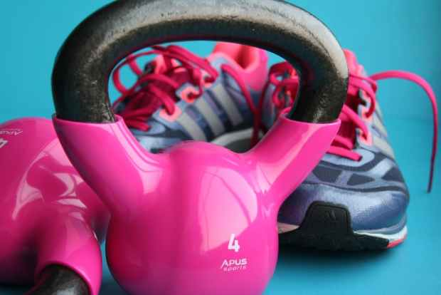 gym-haters set up in own home
