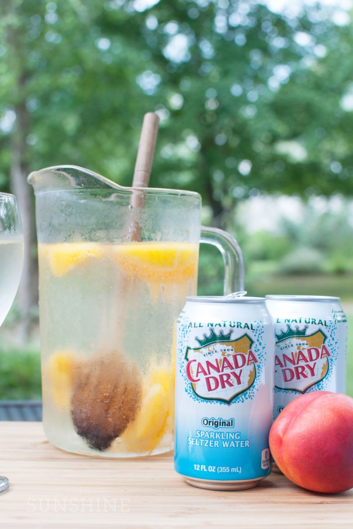 Three Cocktails with Canada Dry Sparkling Seltzer Water