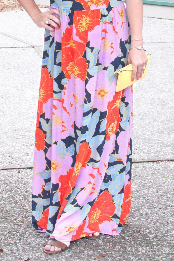 Vacation Style: Floral Maxi