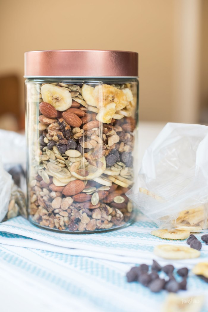 Sweet and Salty Summer Trail Mix