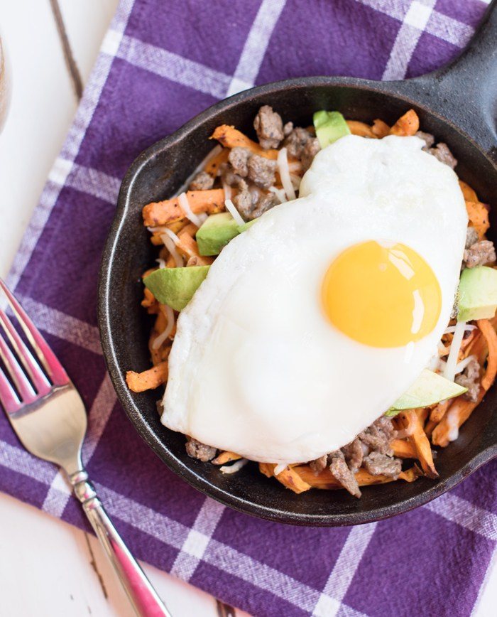 Breakfast Sweet Potato Fries