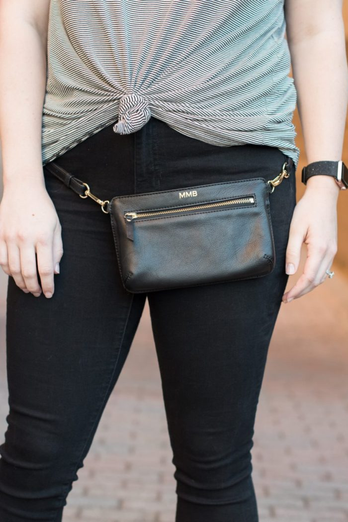 Try the Trend: Choker Tees and Belt Bags