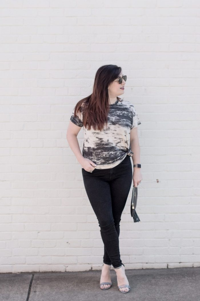 How to Dress Up a Basic Tee