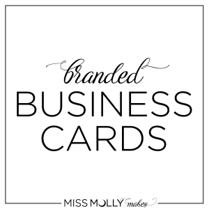 Miss Molly Makes Business Cards