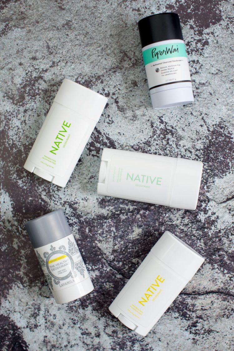 My Favorite Natural Deodorants