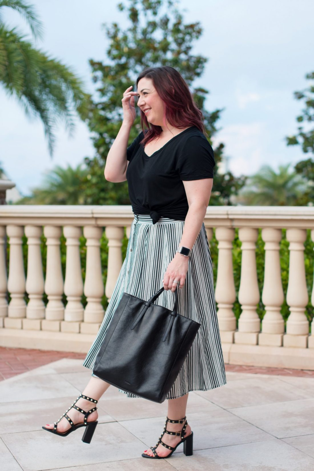 Cocktail Hour on the Coast + Affordable Valentino Rockstud DUPES // Miss Molly Moon